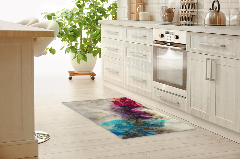 WISTERIA Kitchen Mat By Christina Twomey