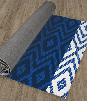 RATTAN BLUE Kitchen Runner By Kavka Designs