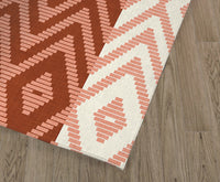 RATTAN RUST Kitchen Runner By Kavka Designs