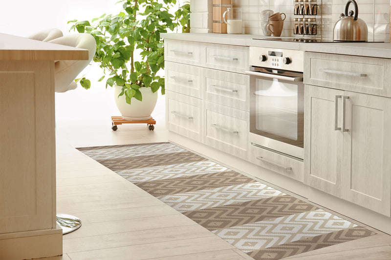 RATTAN TAN Kitchen Runner By Kavka Designs