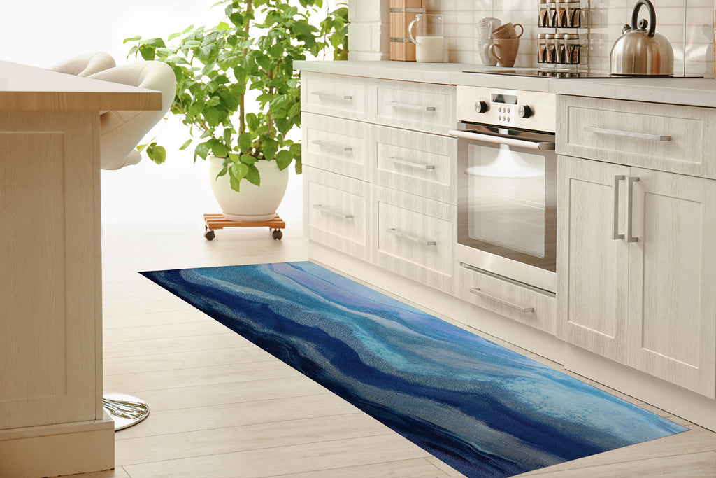 ARCTIC ADVENTURE Kitchen Mat By Melissa Renee