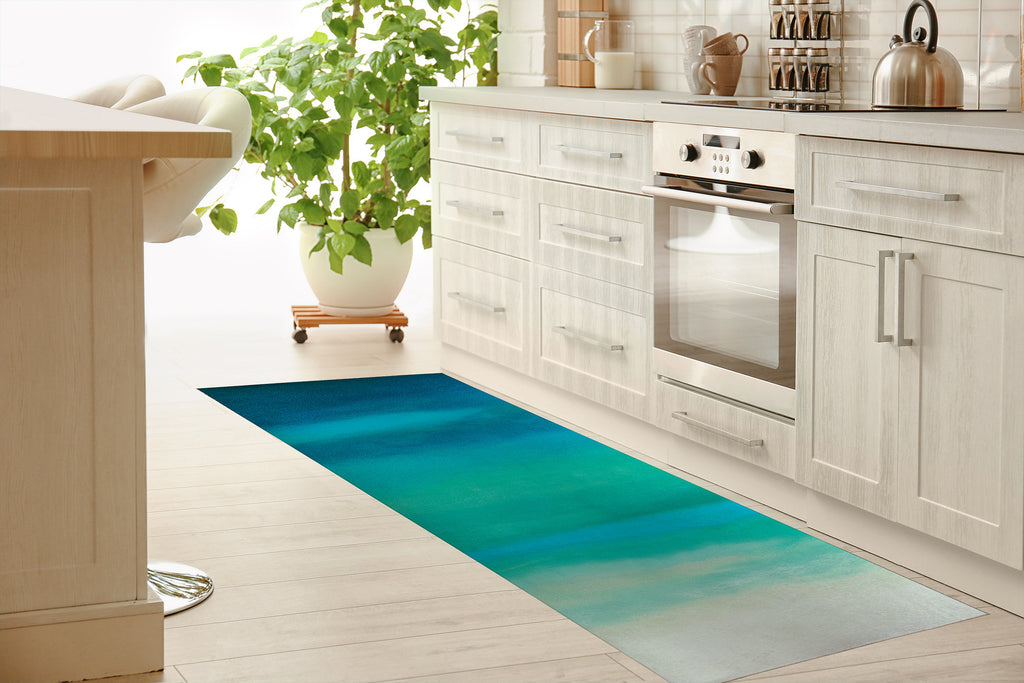 ENDLESS SUMMER Kitchen Mat By Melissa Renee
