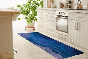 SHADOWS OF THE DEEP Kitchen Mat By Melissa Renee