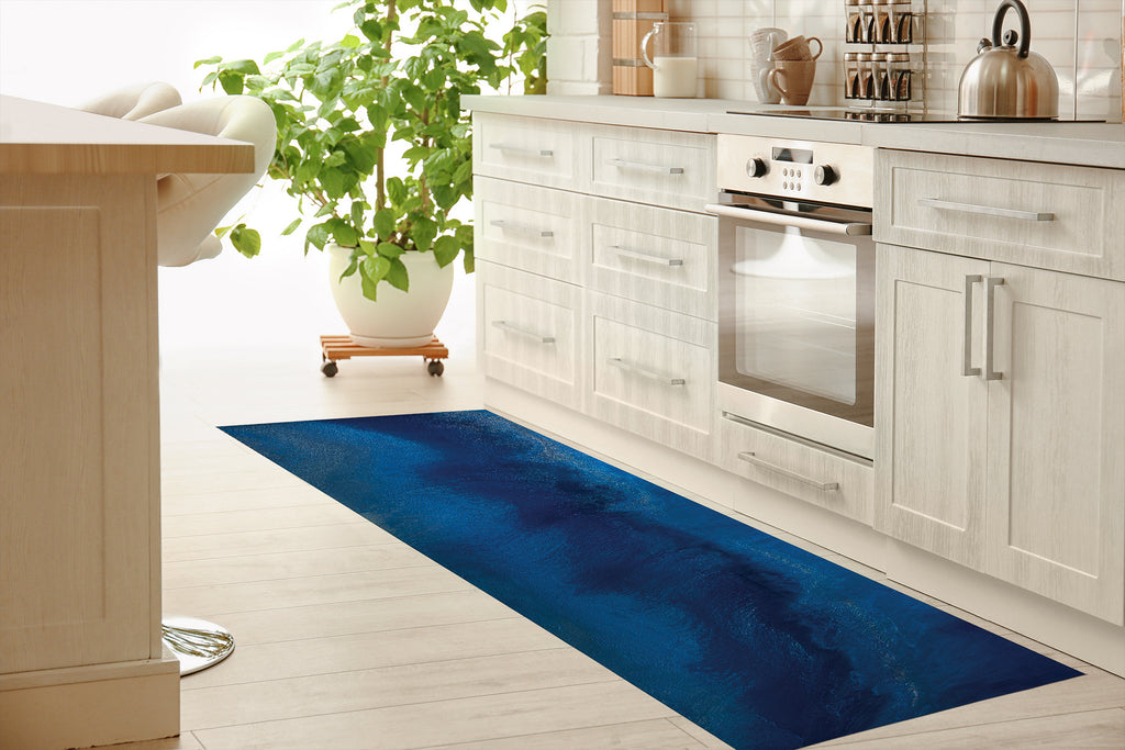 SURF'S UP Kitchen Mat By Melissa Renee