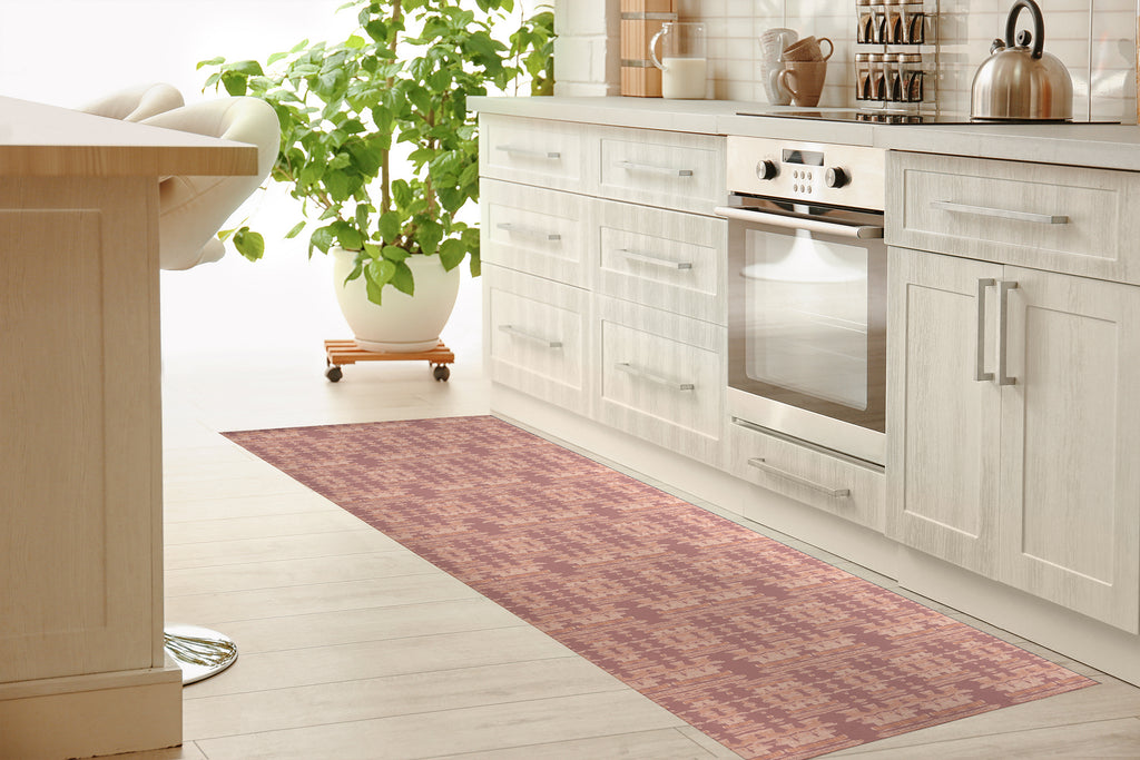 AZTEC DESERT ROSE Kitchen Mat By Hope Bainbridge