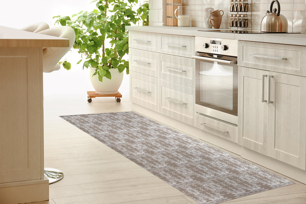 AZTEC DESERT SAND Kitchen Mat By Hope Bainbridge