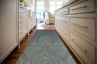 TURK TEAL Kitchen Mat By Kavka Designs