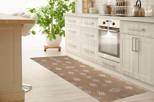 KILIM BROWN Kitchen Mat By Kavka Designs