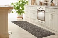 LIDIA TAUPE Kitchen Mat By Kavka Designs