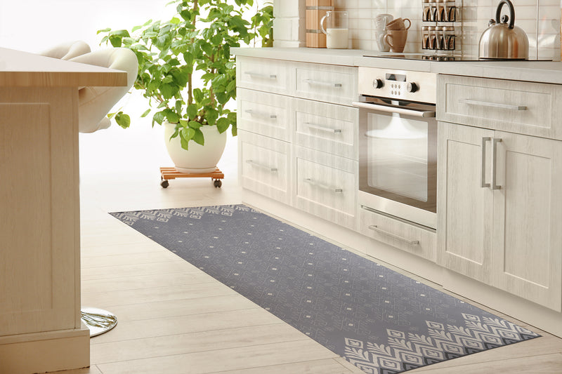 SWEATER GRAY Kitchen Mat By Kavka Designs