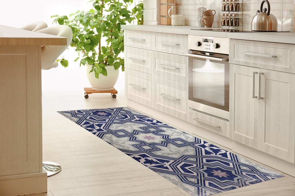 BARCELONA Kitchen Mat By Marina Gutierrez