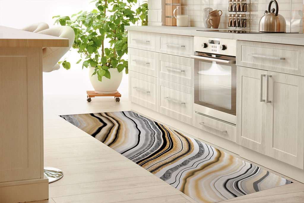 AGATE Kitchen Mat By Marina Gutierrez