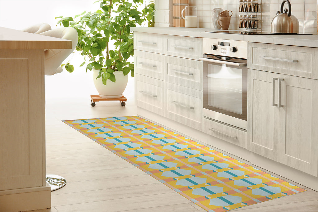 SORRENTO Kitchen Mat By Michelle Parascandolo