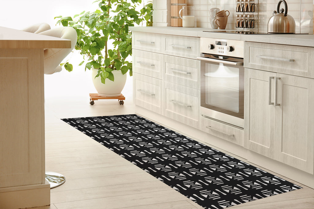 SAMSUN Kitchen Mat By Michelle Parascandolo