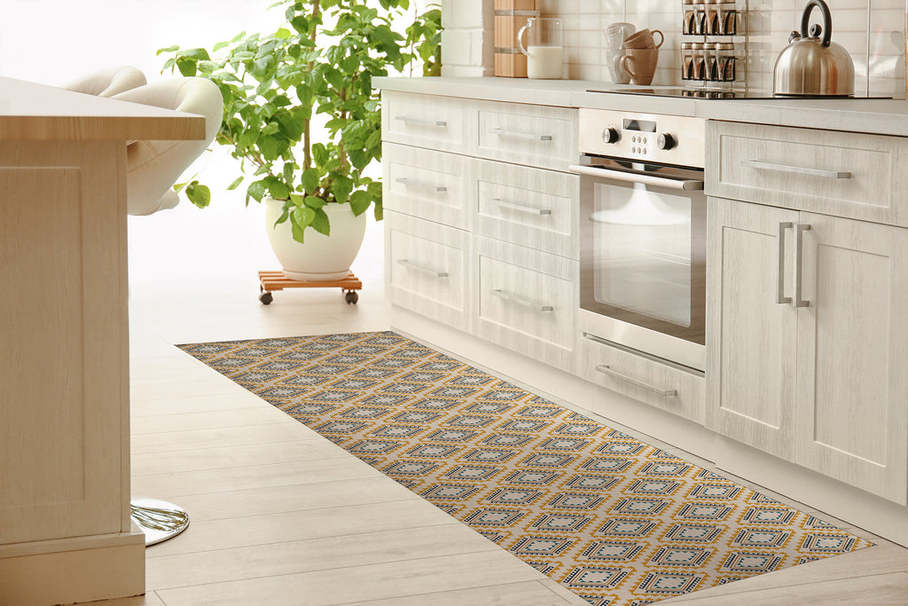 ADVENTURE DESERT Kitchen Mat By Tiffany Wong