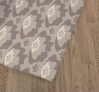 SWEETHEART NEUTRAL Kitchen Mat By Tiffany Wong