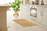 OASIS GOLD Kitchen Runner By Kavka Designs