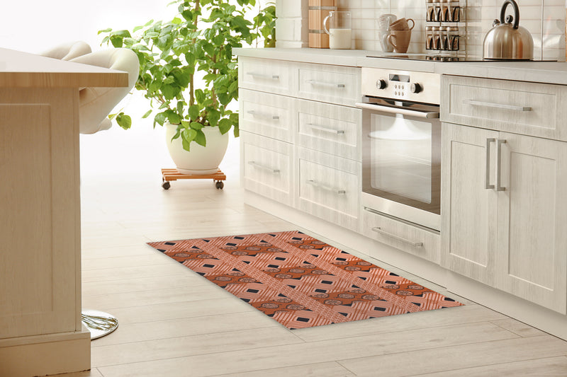 POMPEII RUST Kitchen Runner By Kavka Designs