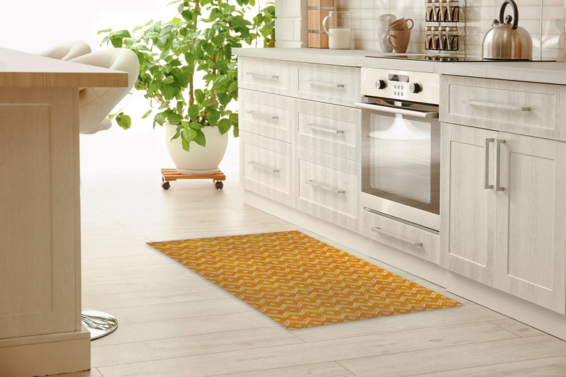 VILLAGE GOLD Kitchen Runner By Kavka Designs