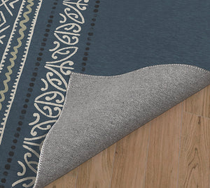 SURF DENIM Kitchen Mat By Kavka Designs