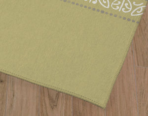SURF LIME Kitchen Mat By Kavka Designs