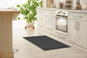 SWEATER SMOKE Kitchen Mat By Kavka Designs