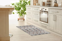 BELLA GREY DISTRESSED Kitchen Mat By Terri Ellis