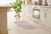 DAINTY BLUSH Kitchen Mat By Tiffany Wong