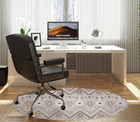 BELLA TAUPE DISTRESSED Office Mat By Terri Ellis