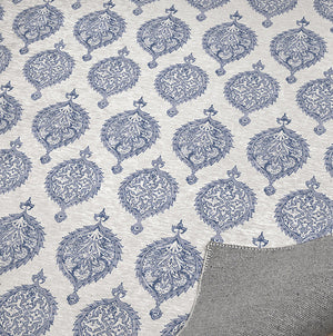 ENDANA PERIWINKLE Office Mat By Becky Bailey