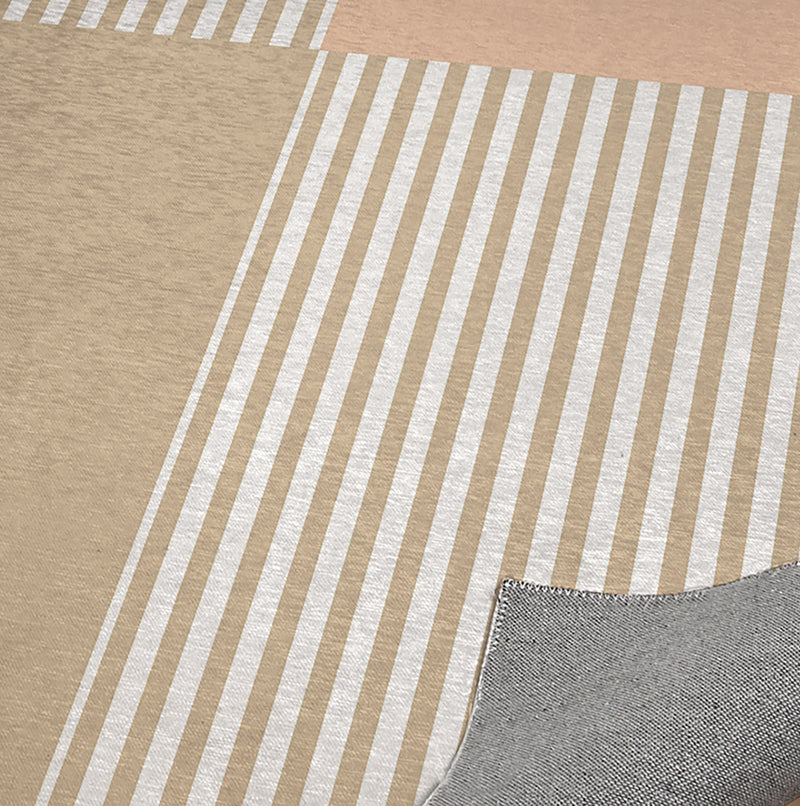 DASH BEIGE Office Mat By Becky Bailey