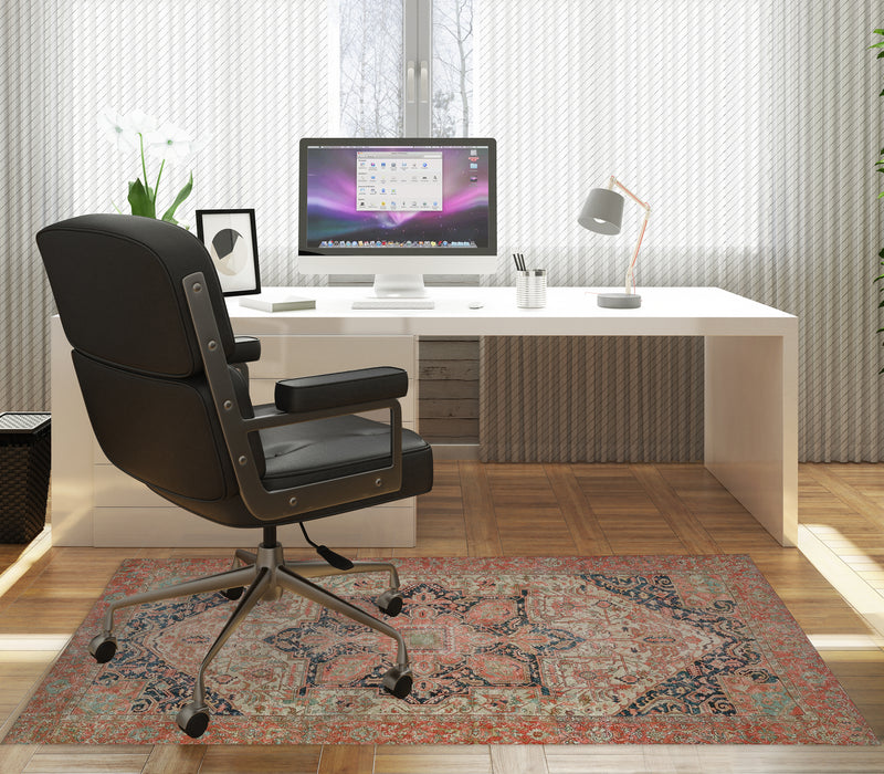 HEREZ RUST Office Mat By Kavka Designs