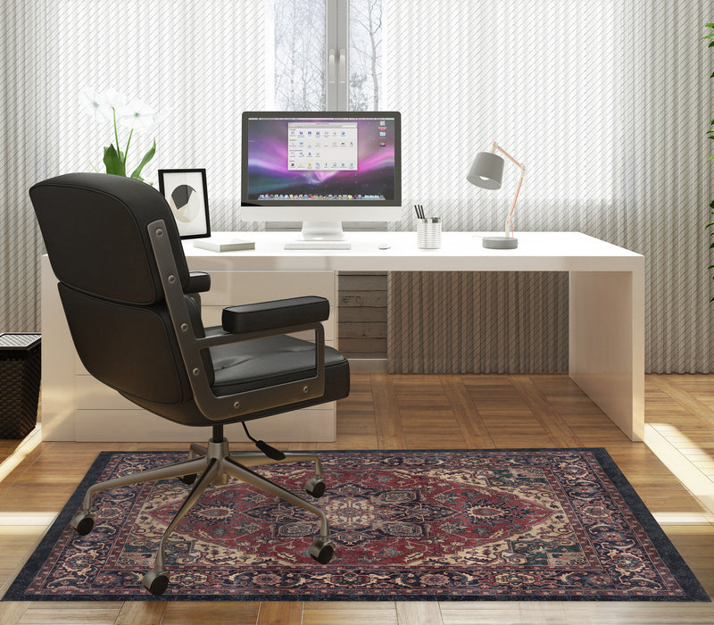 SERAPI MIDNIGHT Office Mat By Kavka Designs