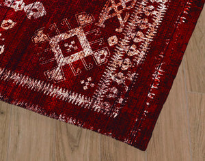 ANNOR BIKING RED Office Mat By Terri Ellis