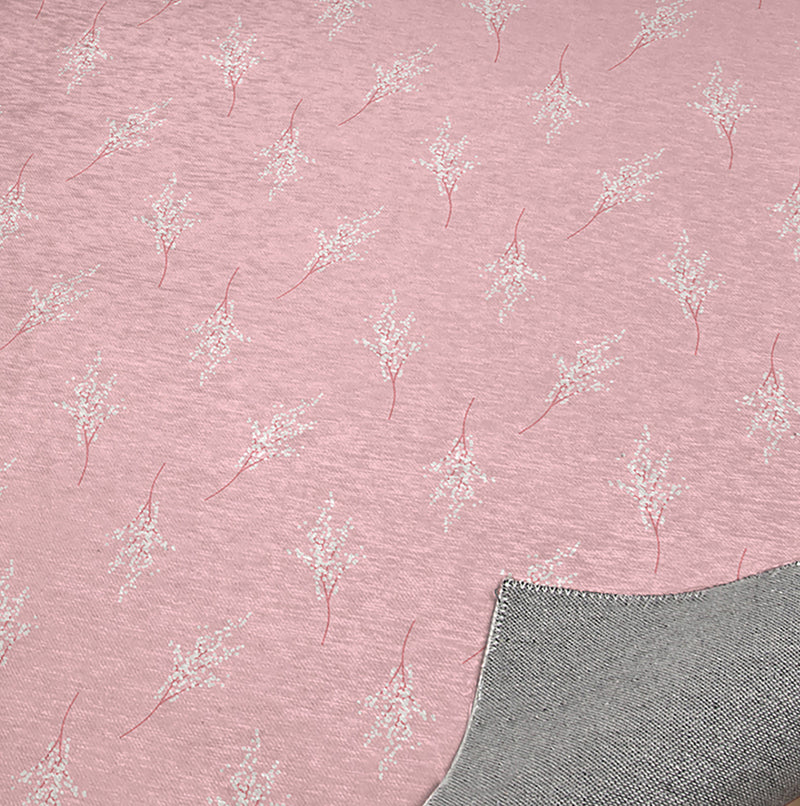FIELD OF FLOWERS ON LIGHT PINK Office Mat By Terri Ellis
