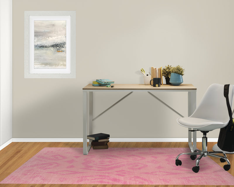 ANNA PINK Office Mat By Terri Ellis