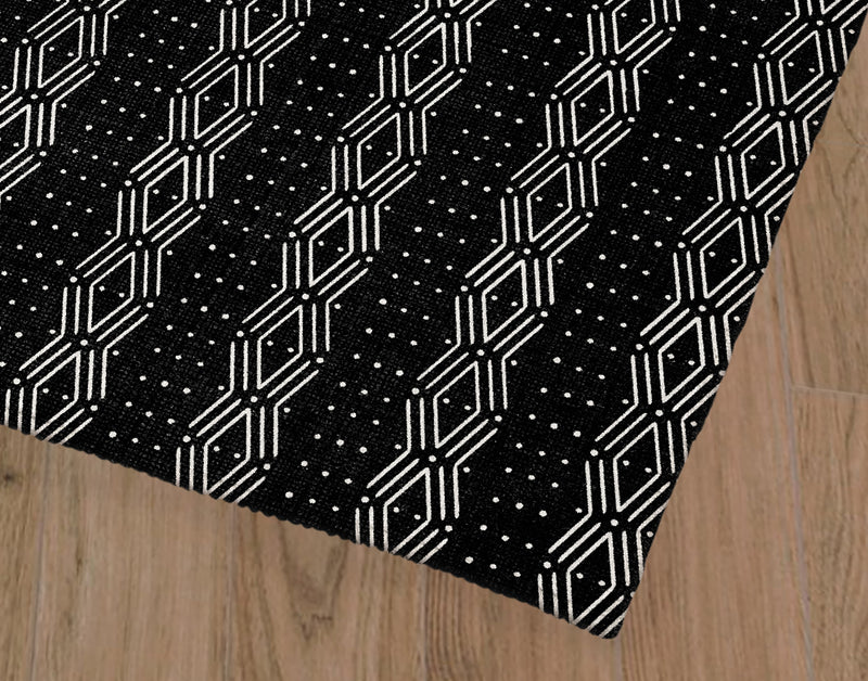 DUNE BLACK Office Mat By Terri Ellis