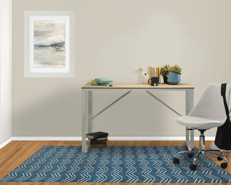 DYSSODIA BLUE Office Mat By Terri Ellis