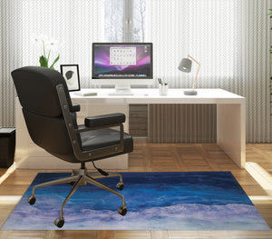SHADOWS OF THE DEEP Office Mat By Melissa Renee