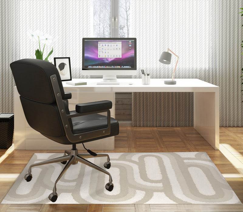 RADPAD IVORY Office Mat By Kavka Designs