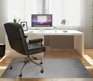 OMBRE GREY Office Mat By Marina Gutierrez