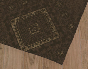 ZEN BROWN Office Mat By Kavka Designs