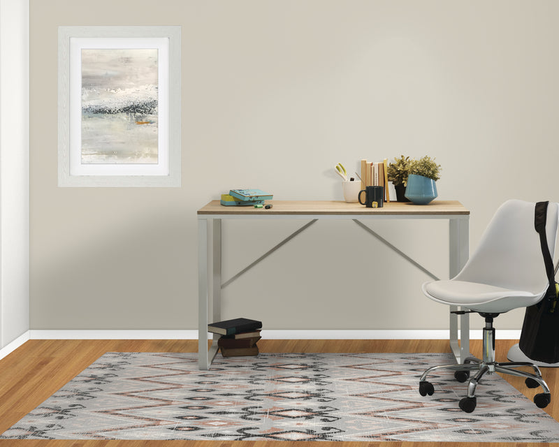 BELLA GREY DISTRESSED Office Mat By Terri Ellis
