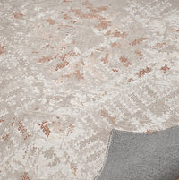 EMMA TAUPE DISTRESSED Office Mat By Terri Ellis