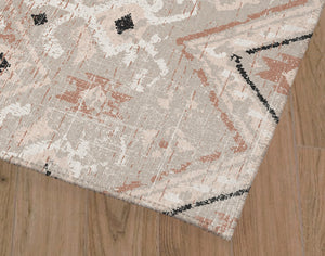 JESSA TAUPE DISTRESSED Office Mat By Terri Ellis