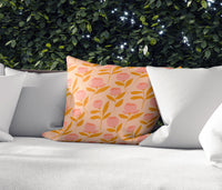 SUMMER Indoor|Outdoor Pillow By Michelle Parascandolo