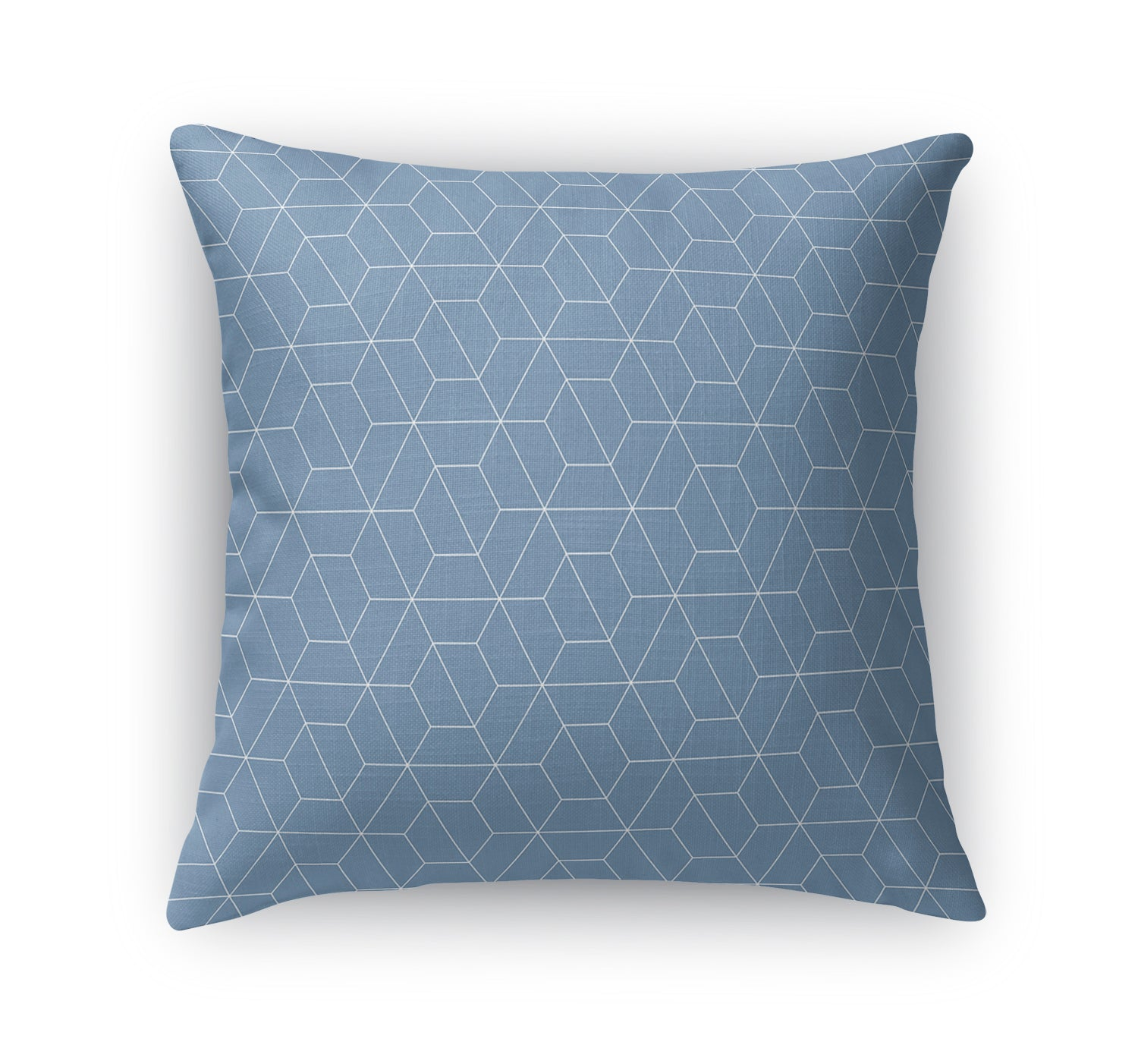 TRON BLUE Indoor|Outdoor Pillow By Terri Ellis