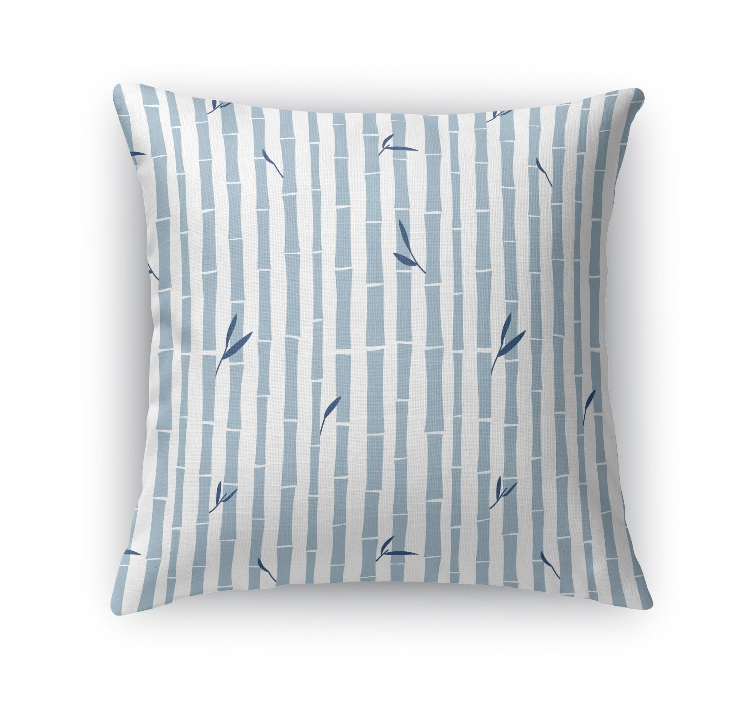 BAMBOO BLUE Indoor|Outdoor Pillow By Tiffany Wong
