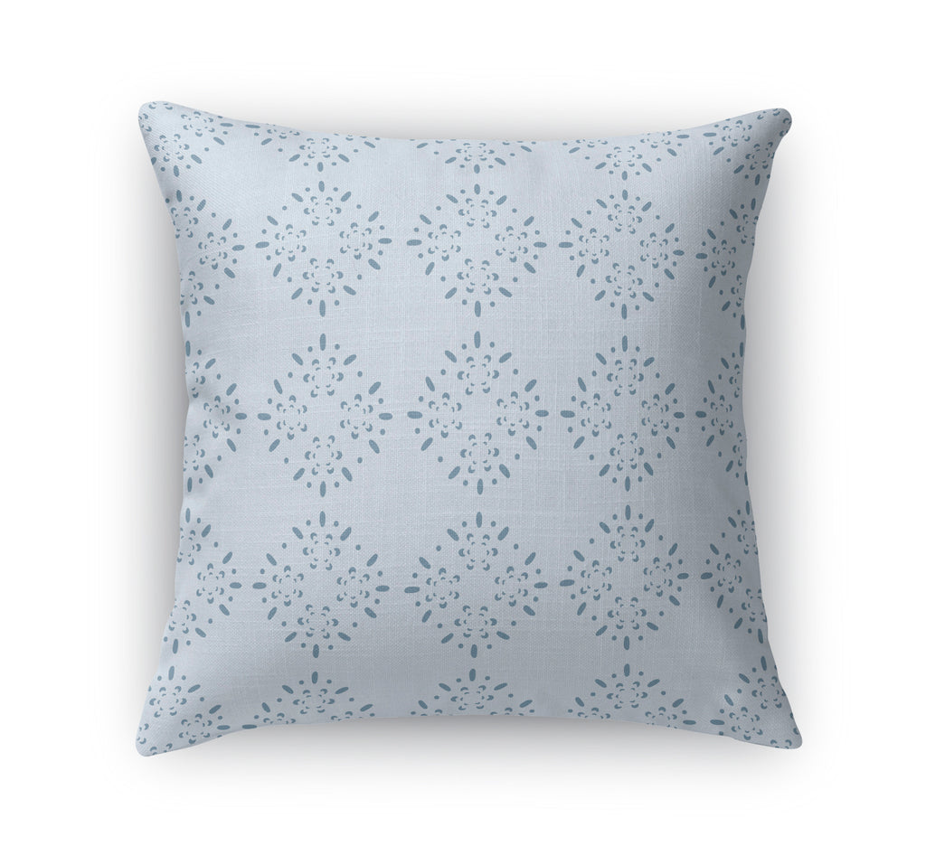 BRILLAR BLUE Indoor|Outdoor Pillow By Tiffany Wong