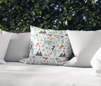 Peak Sage Indoor|Outdoor Pillow By Tiffany Wong